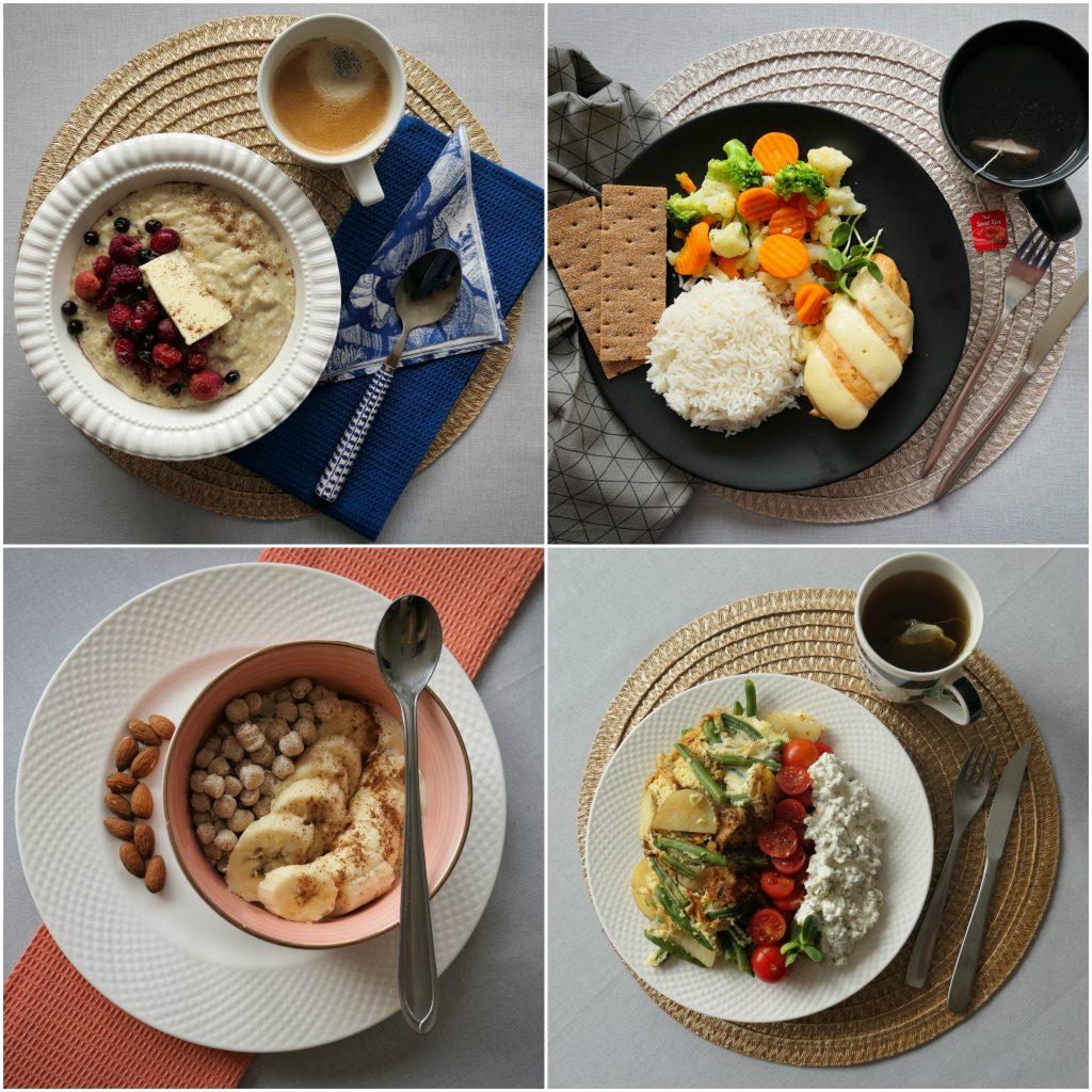 Menüü 1 – 1800 kalorit päevas