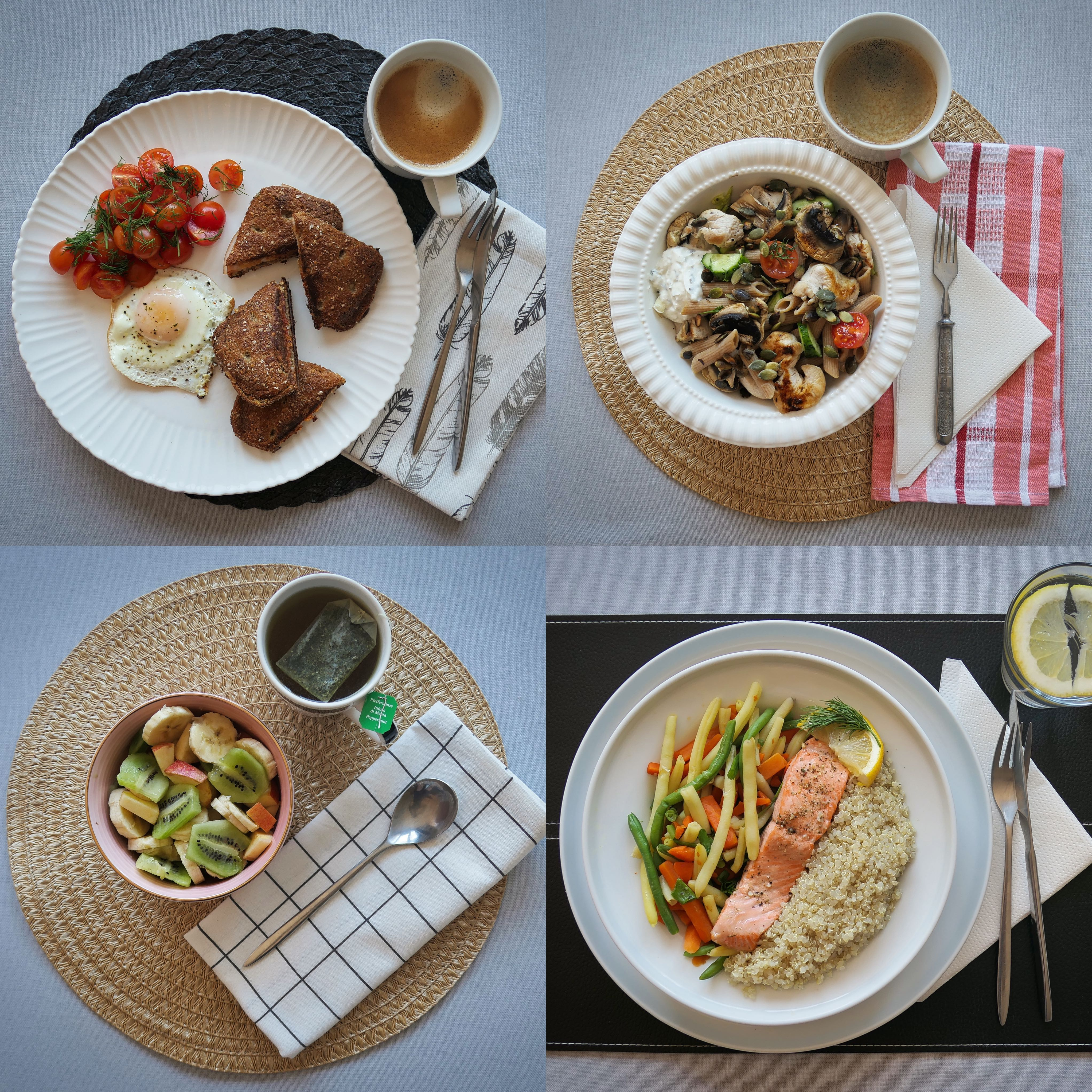 Menüü 4 – 2100 kalorit päevas