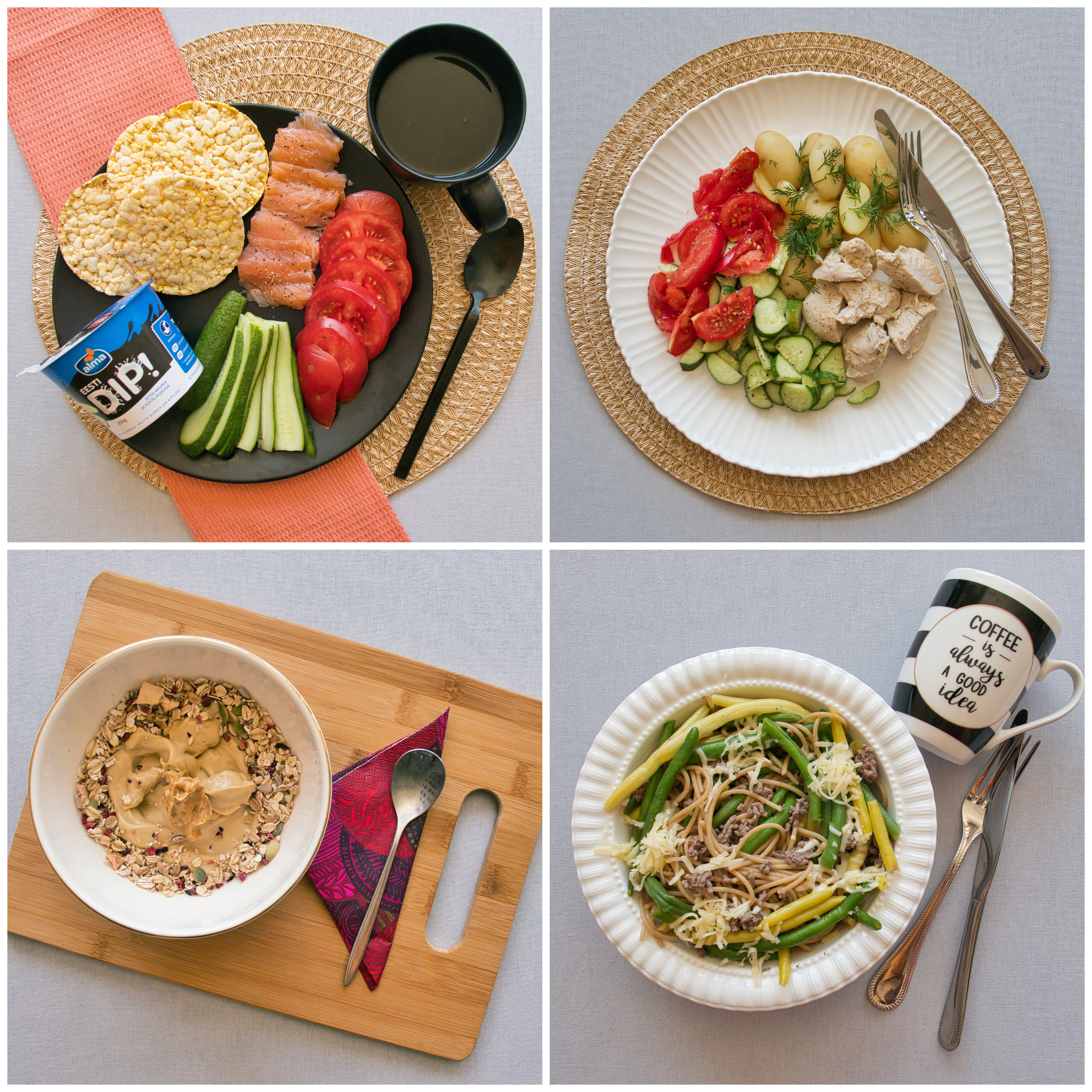 Menüü 6 – 2500 kalorit päevas