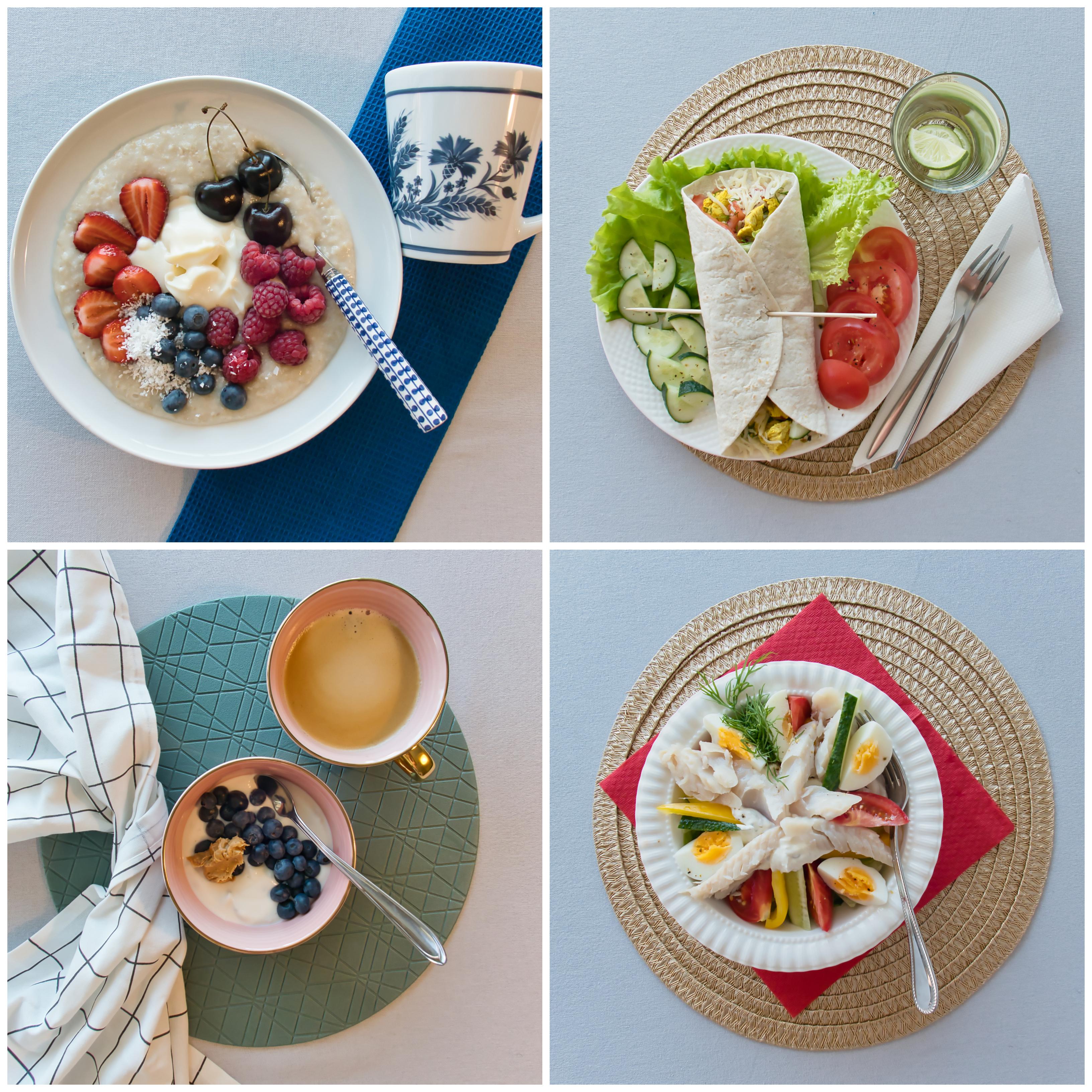 Menüü 8 – 1500 kalorit päevas