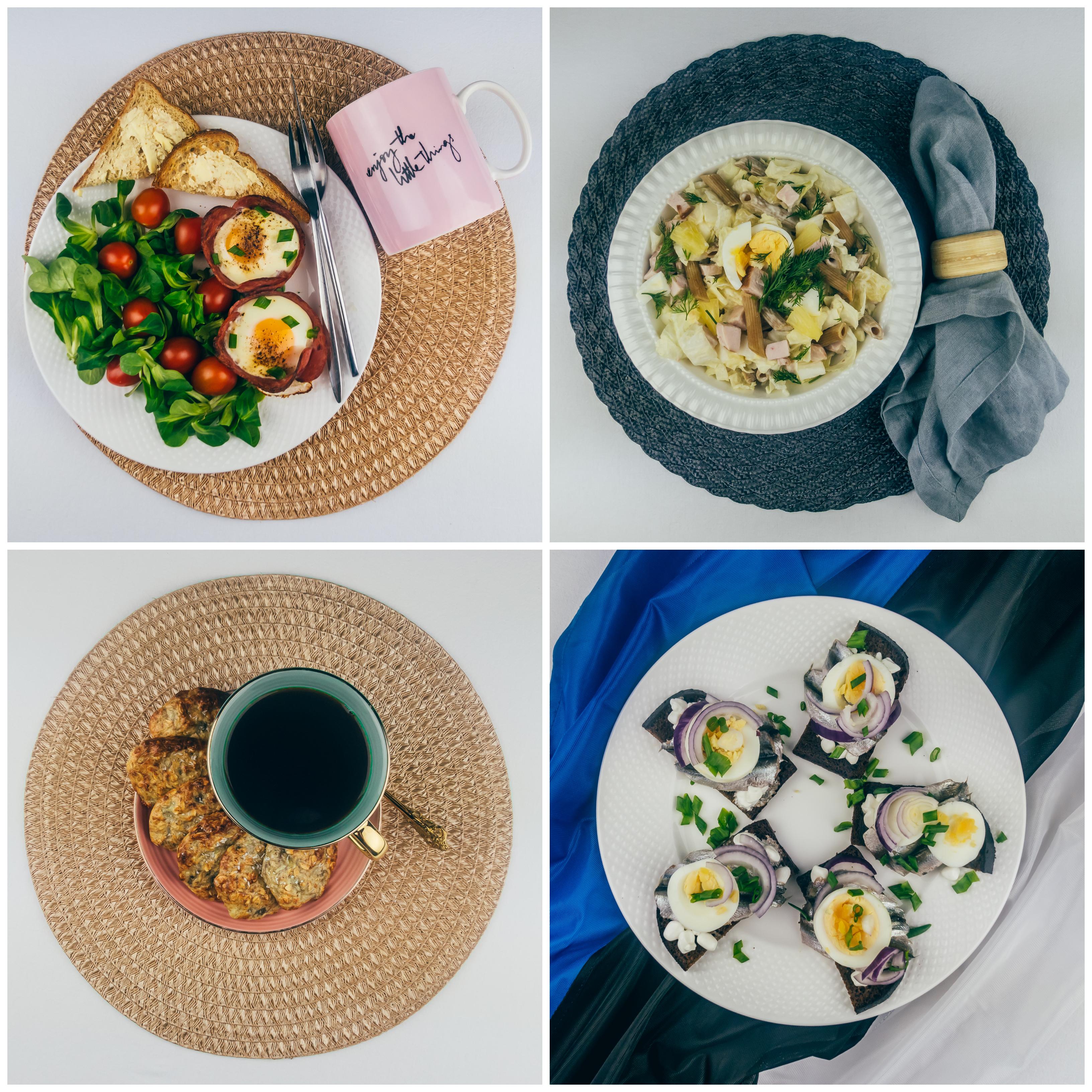 Menüü 18 – 2500 kalorit päevas