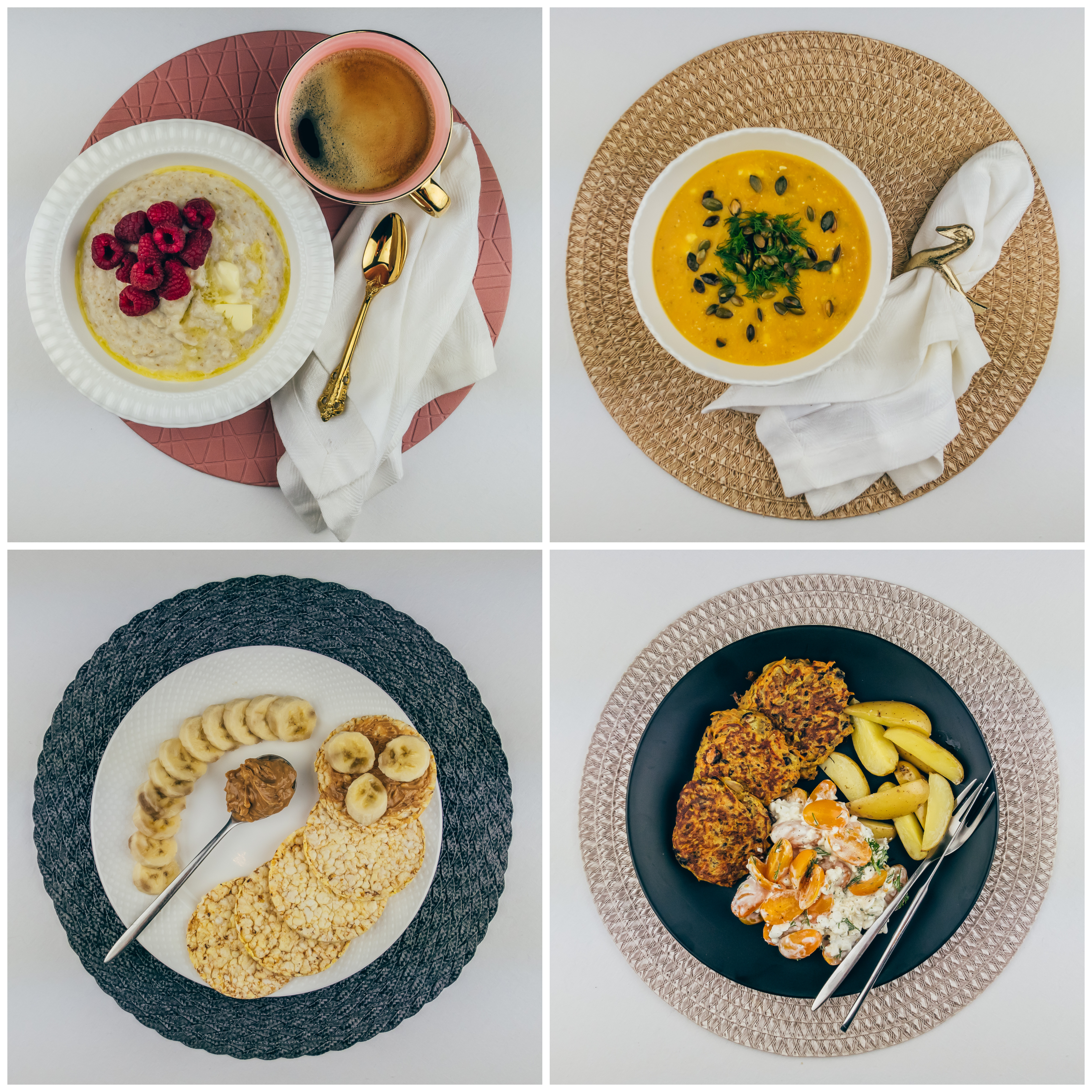 Vegetarian menu – 2 🌿 1500 calories