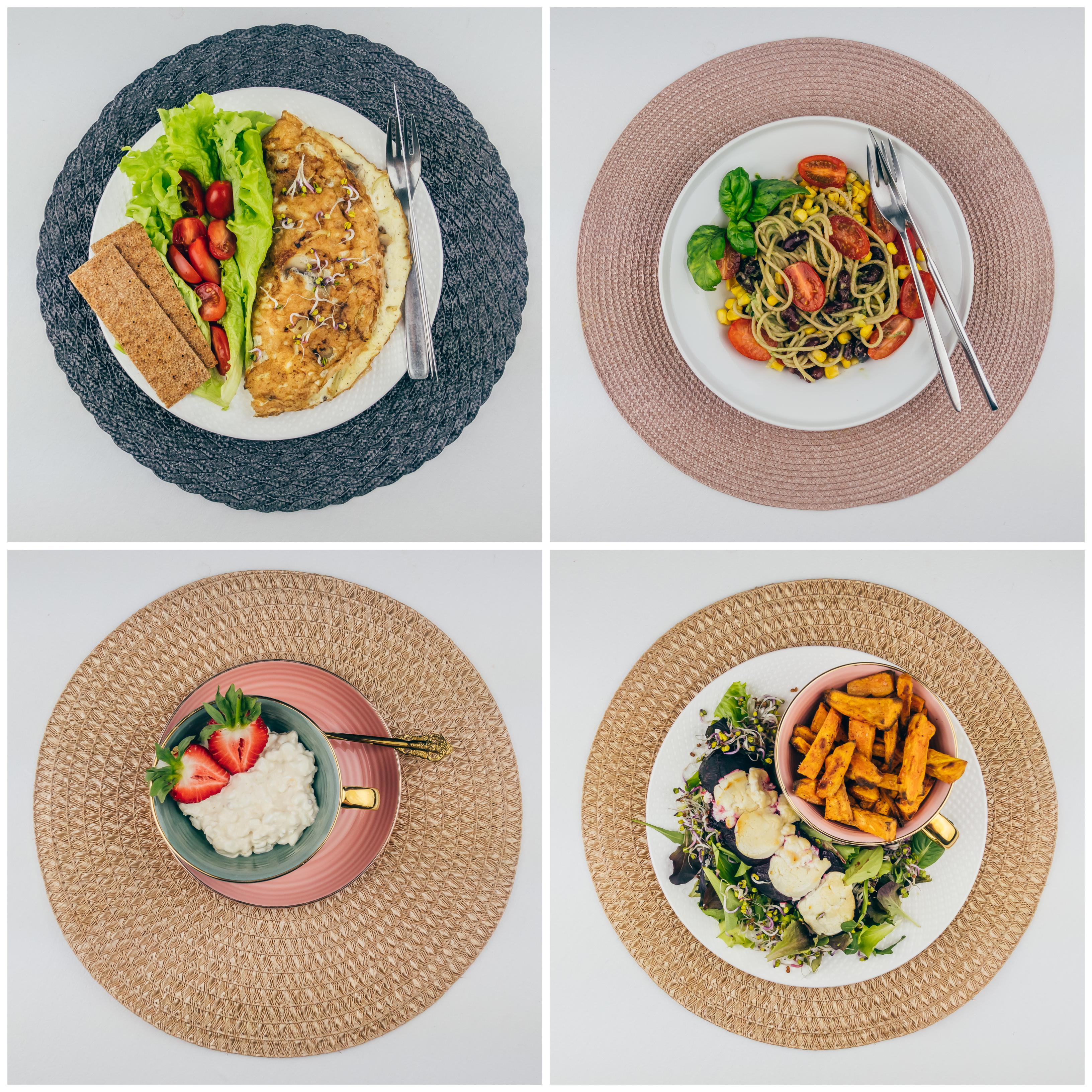 Taimetoidumenüü 3 – 2200 kalorit päevas 🌿