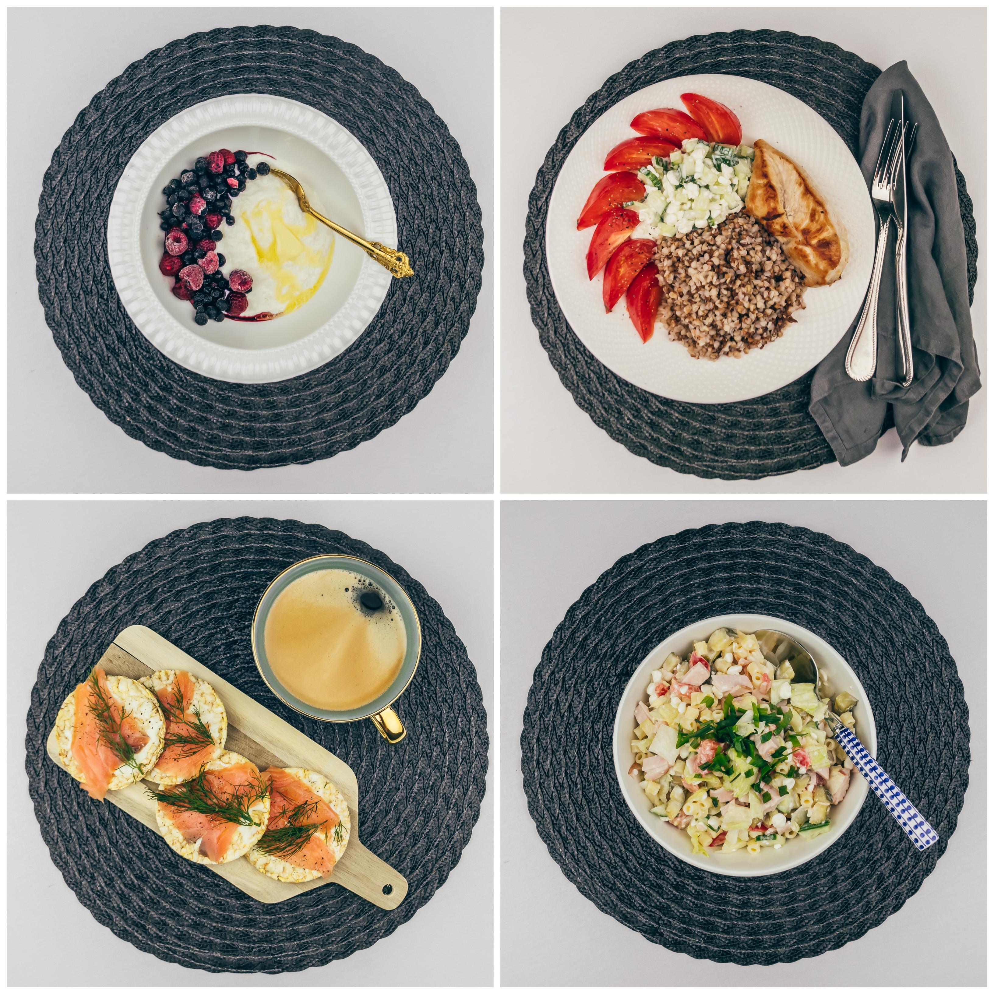 Menüü 25 – 1900 kalorit päevas