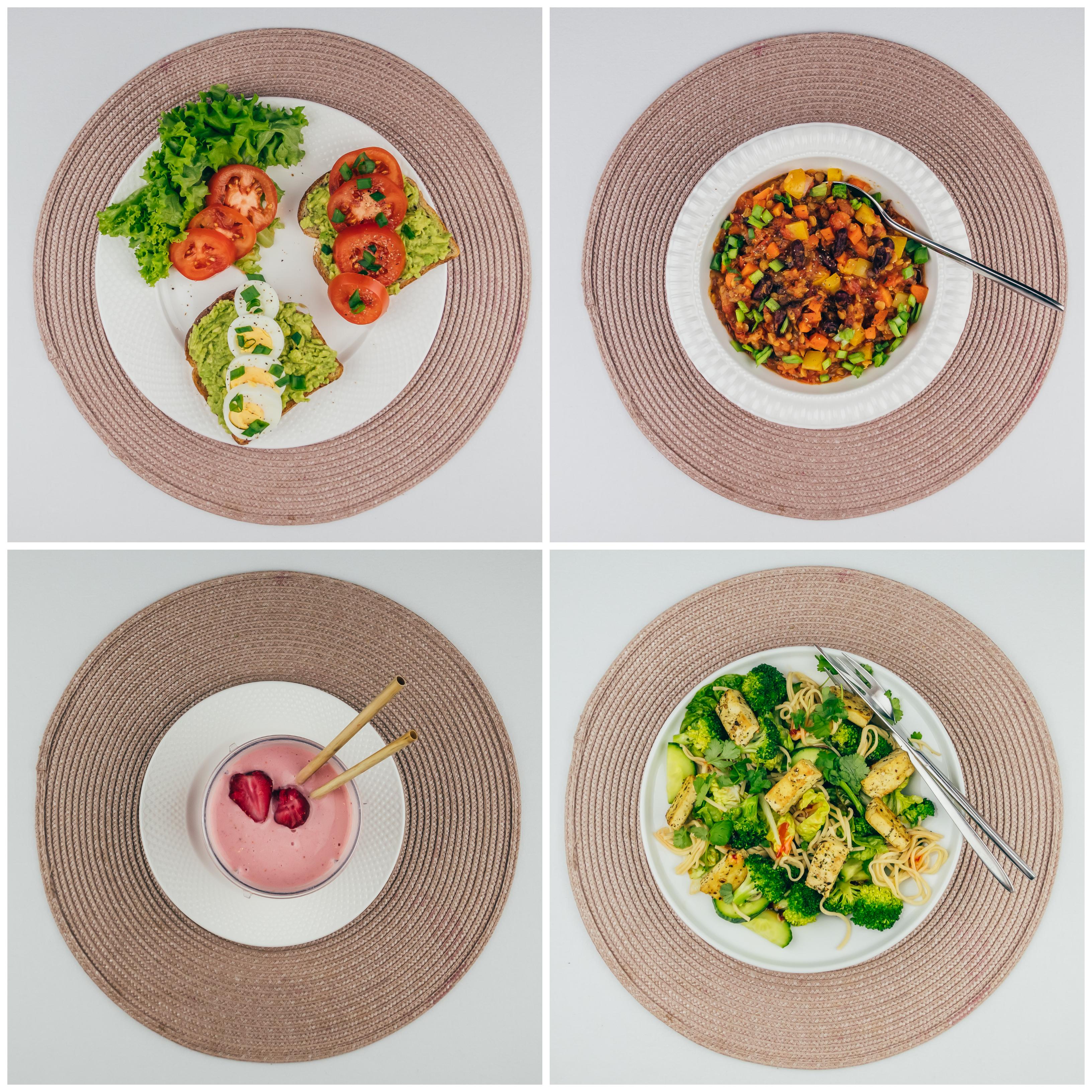 Taimetoidumenüü 4 – 2200 kalorit päevas 🌿