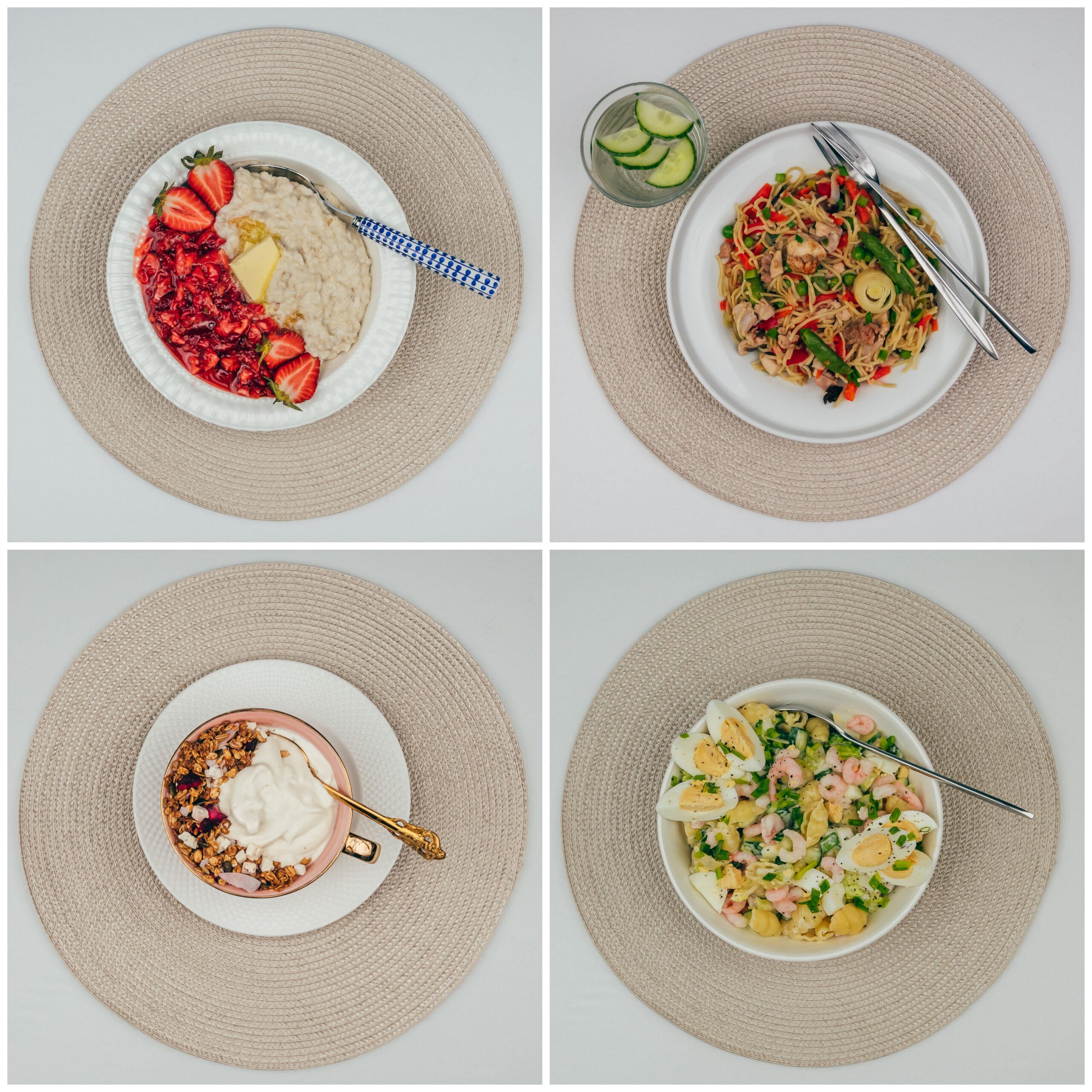 Menüü 30 – 2100 kalorit päevas