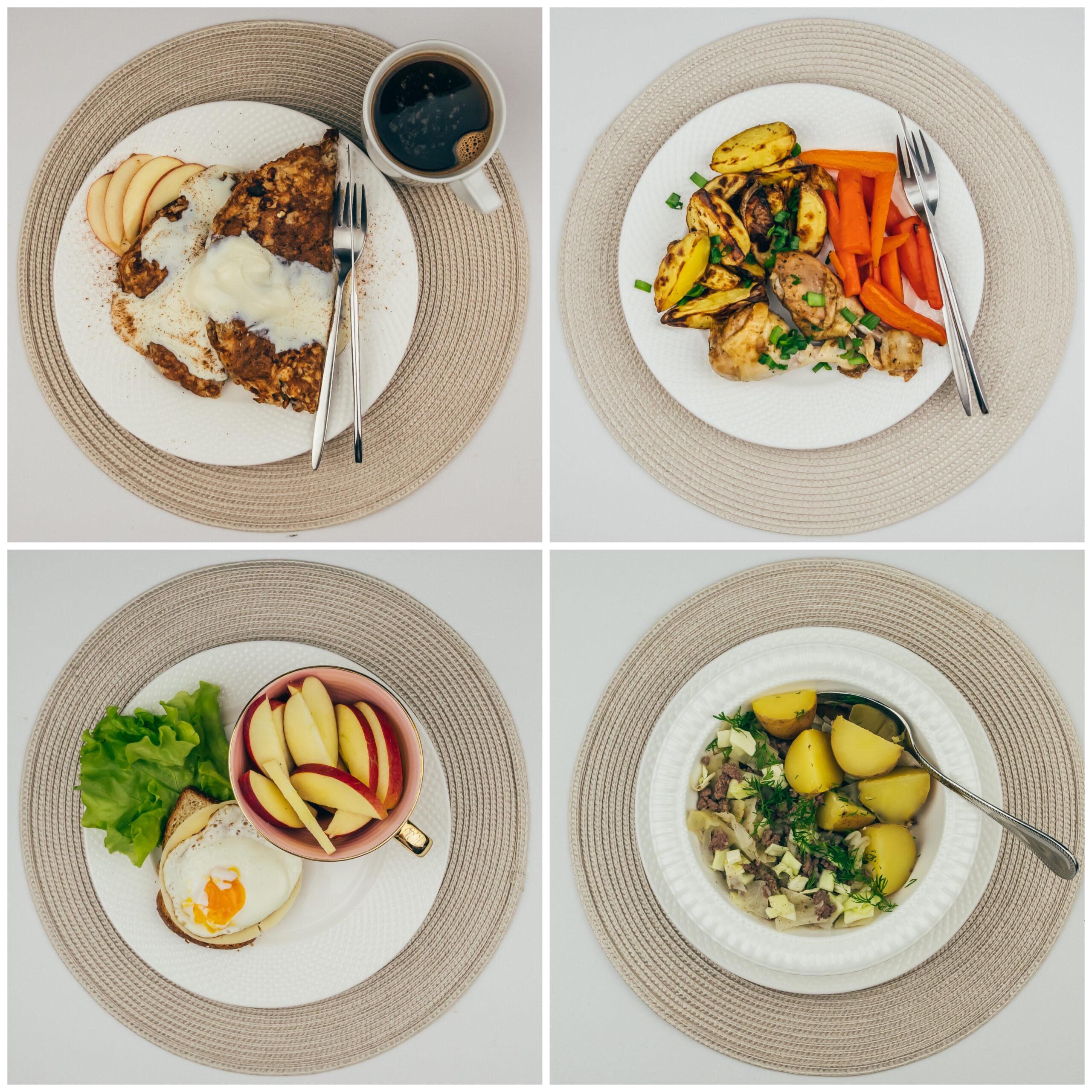 Menüü 31 – 2000 kalorit päevas