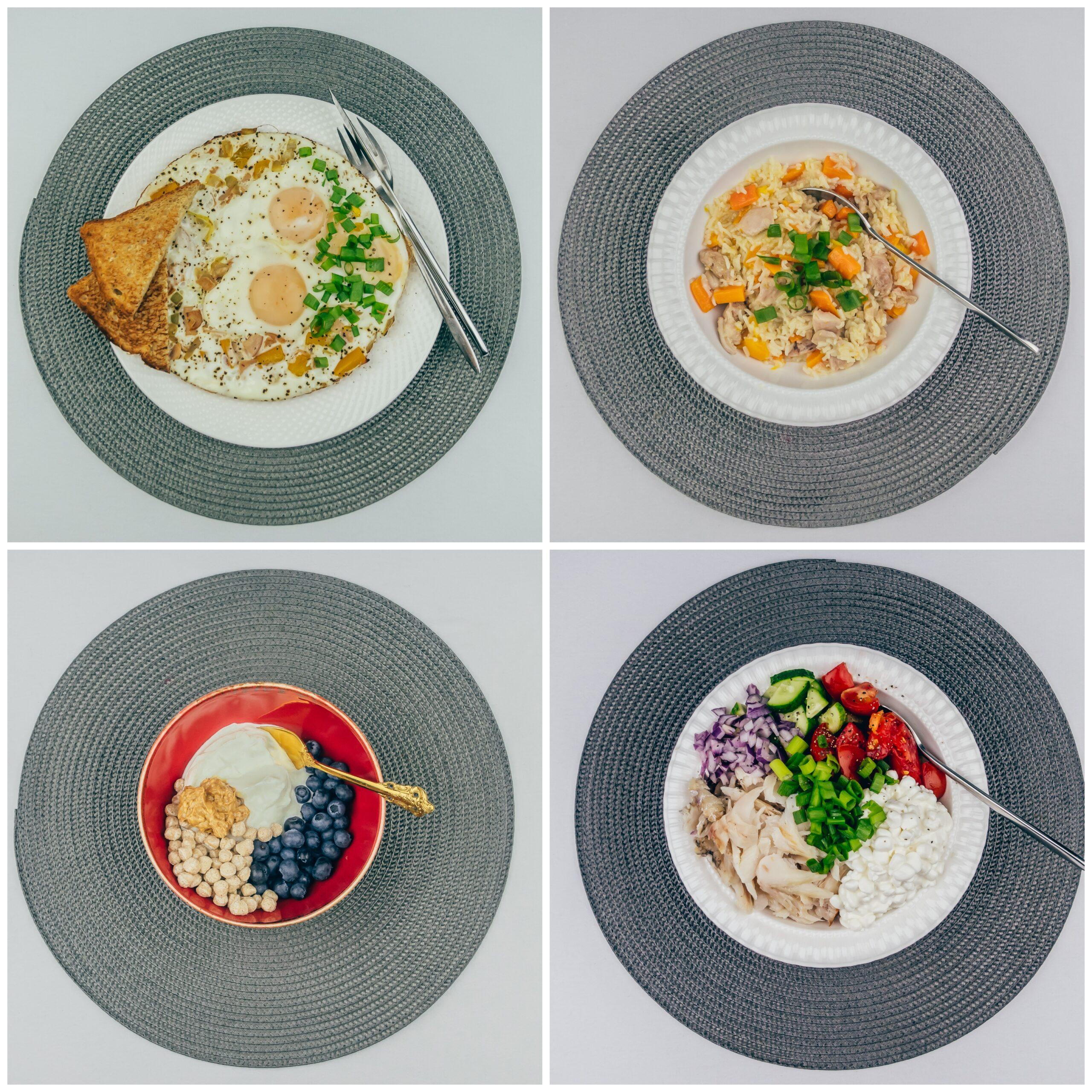 Menüü 32 – 1900 kalorit päevas