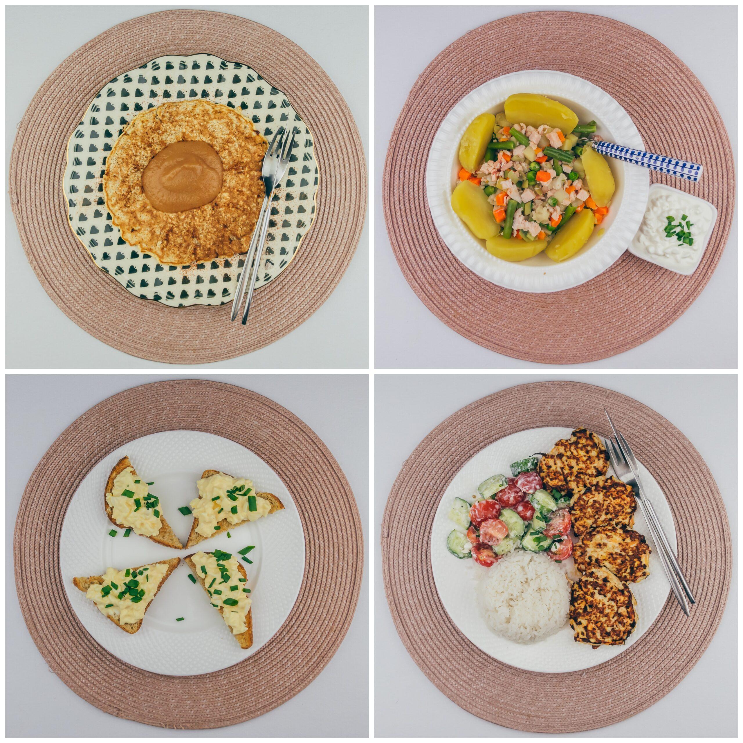 Menüü 33 – 1900 kalorit päevas