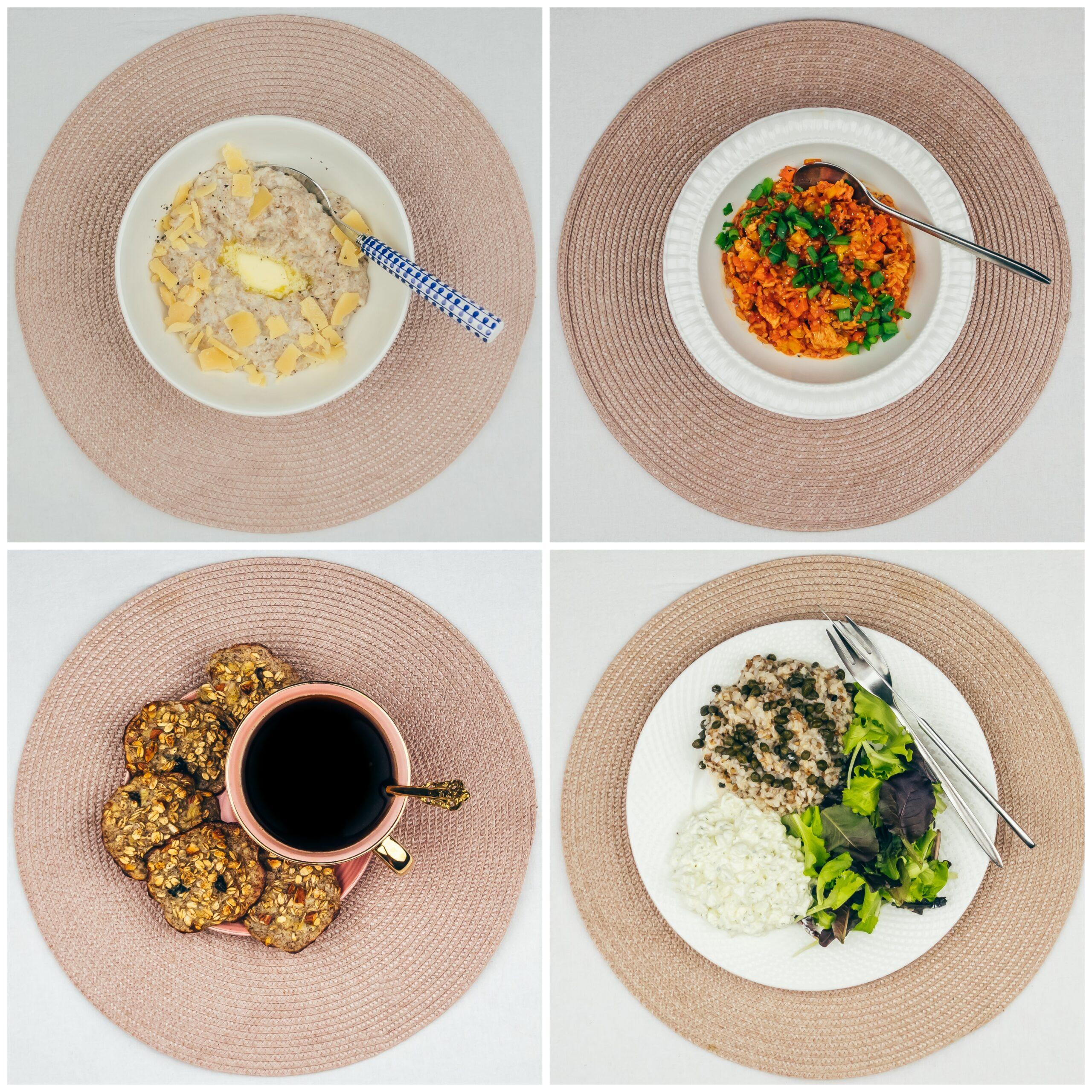 Menüü 34 – 1900 kalorit päevas